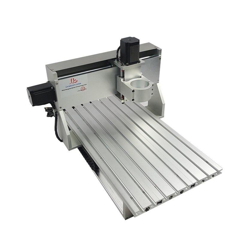 Mini CNC métal machine de découpe cadre 3040 bois routeur avec fin de course et vis à billes adapté bricolage PCB fraisage