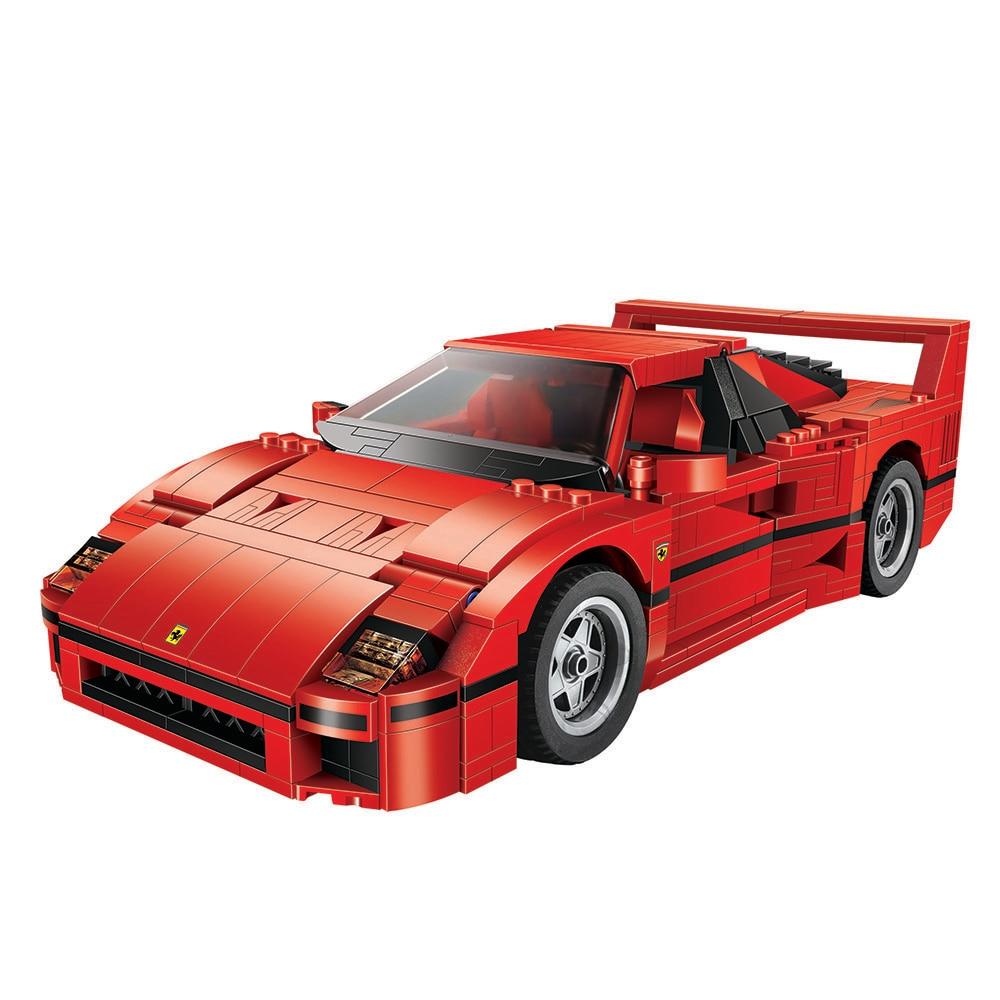 1157pcs 10567 Technic Expert Sport Car F40 Model Building Blocks Bricks Toys for children Car