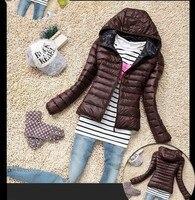 Brzfmrvl moda Delgado invierno mujeres abrigo primavera otoño señora Warm Coat tamaño pequeño chaqueta chica ropa XS S M l XL