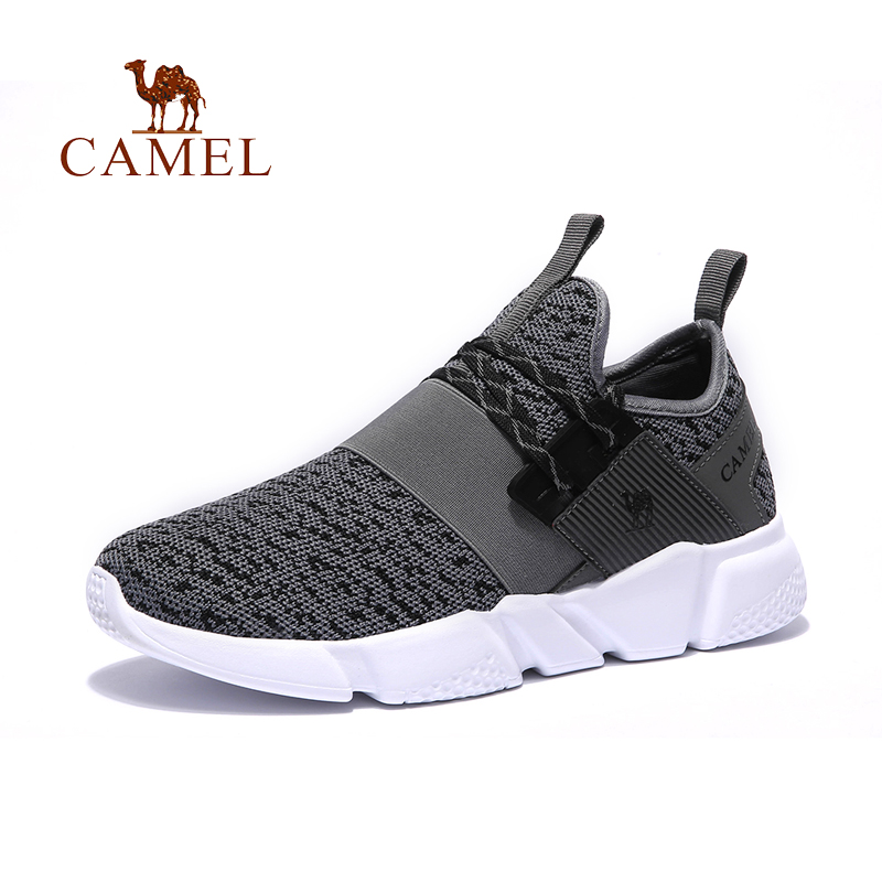 CAMEL New Men's Summer Running shoes Outdoor Sports Jogging Walking Snakers Lightweight Breathable Height-increasing Sneakers mulinsen brand new autumn men running shoes inside height increasing outdoor sports shoes jogging training sneakers 270092