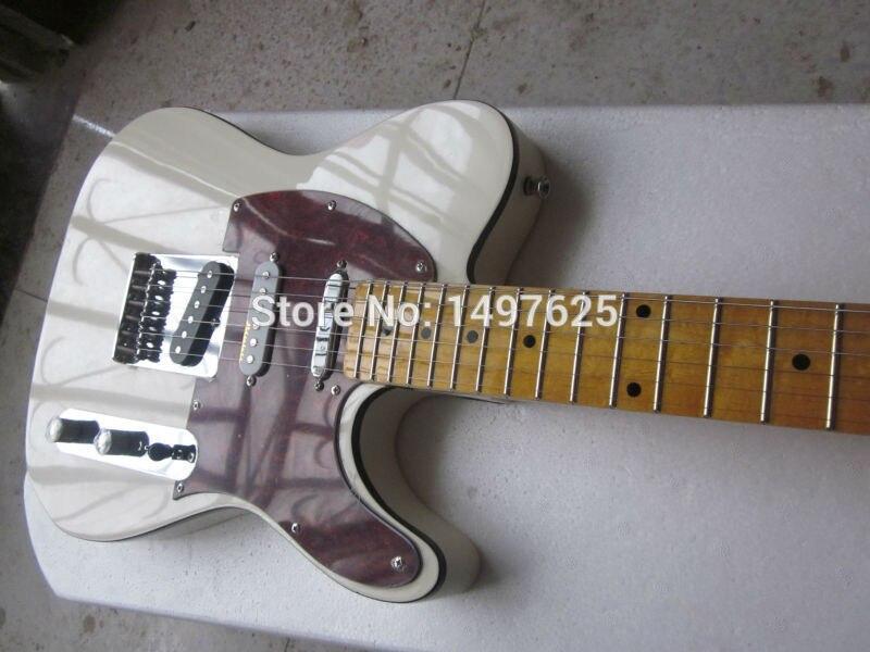 Livraison gratuite guitare électrique nouvelle guitare personnalisée/coloe avec pickgard blanc/guitare en chine