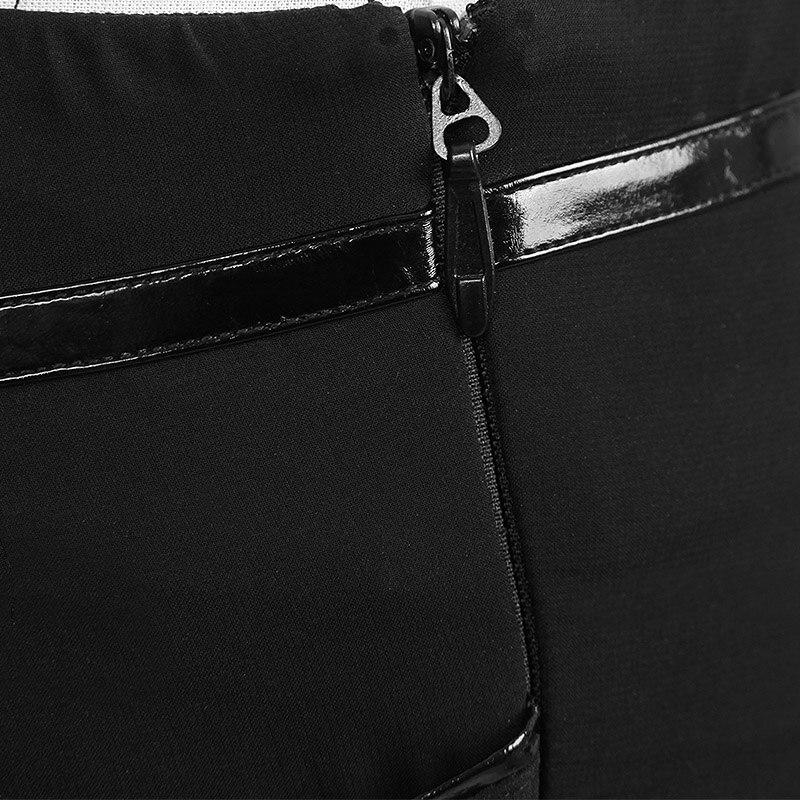 Femmes Mode Mousseline Longue Femelle Sexy Maxi À Soie Divisé Jupe D'été Travers La De Casual Pour Punk Voir Out Creux Jupes Noir q0CFfn4