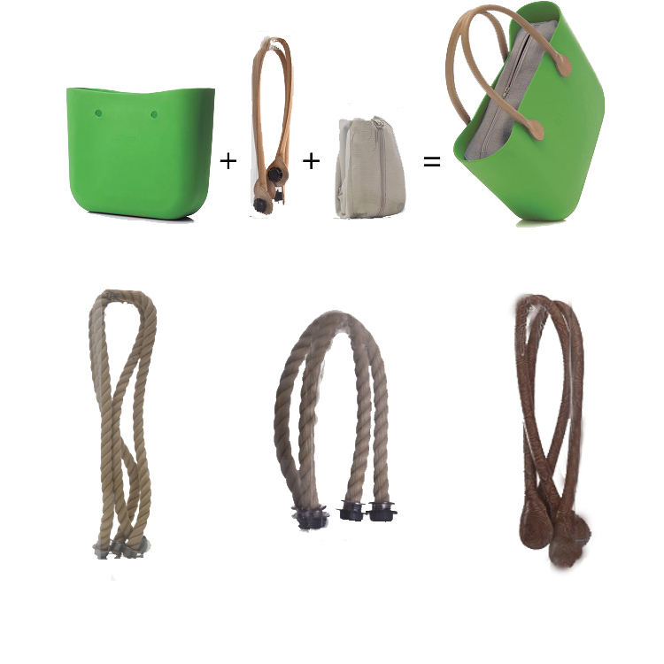 Manici Per Borse O Bag.Rope Up Large Beach Shoulder Hand Bag O Hand Bag Rope Manici In