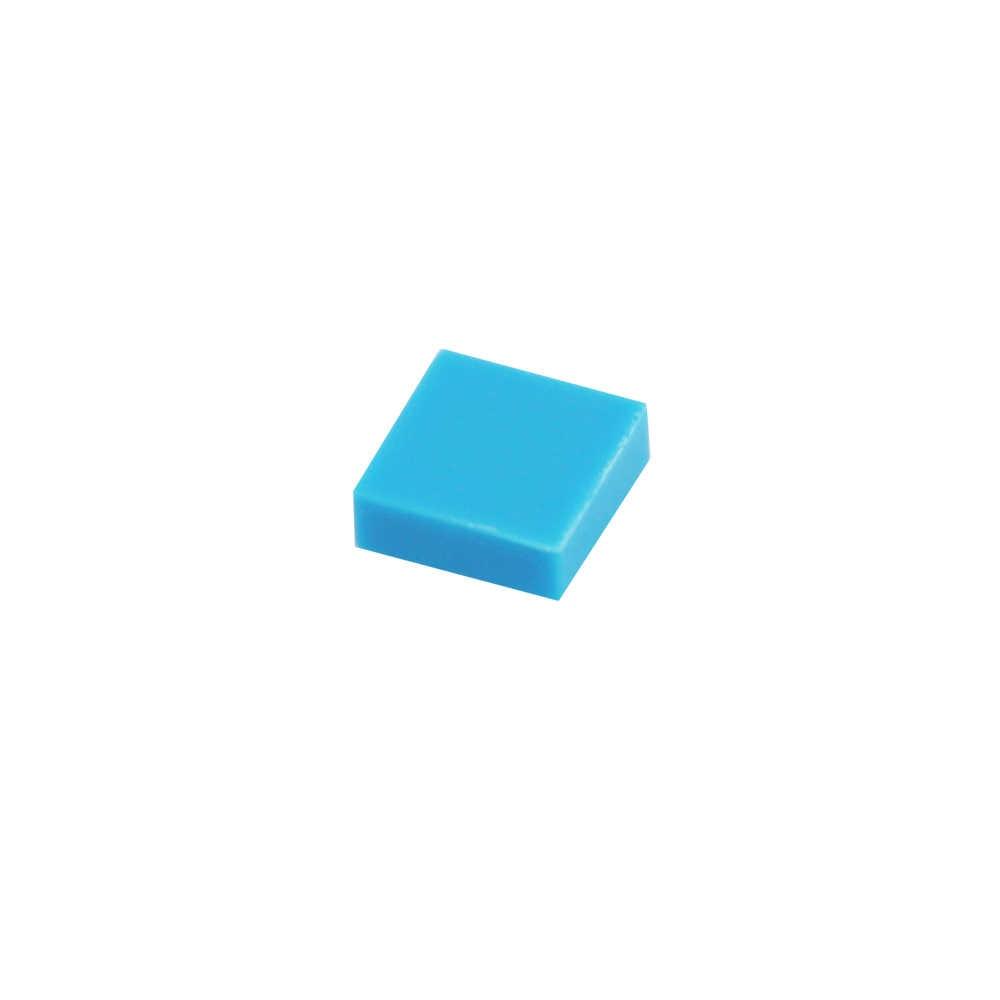 200 шт. плоская черепица 1x1 обучающие игрушки для детей строительные кирпичики город военные строительные аксессуары фитинг Legoes блок 3070