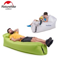 NatureHike Fast Filling Infaltable Air Sofa Beach Air Sleeping Bag Relax Sofa Portable Outdoor Camping Lazy Bag