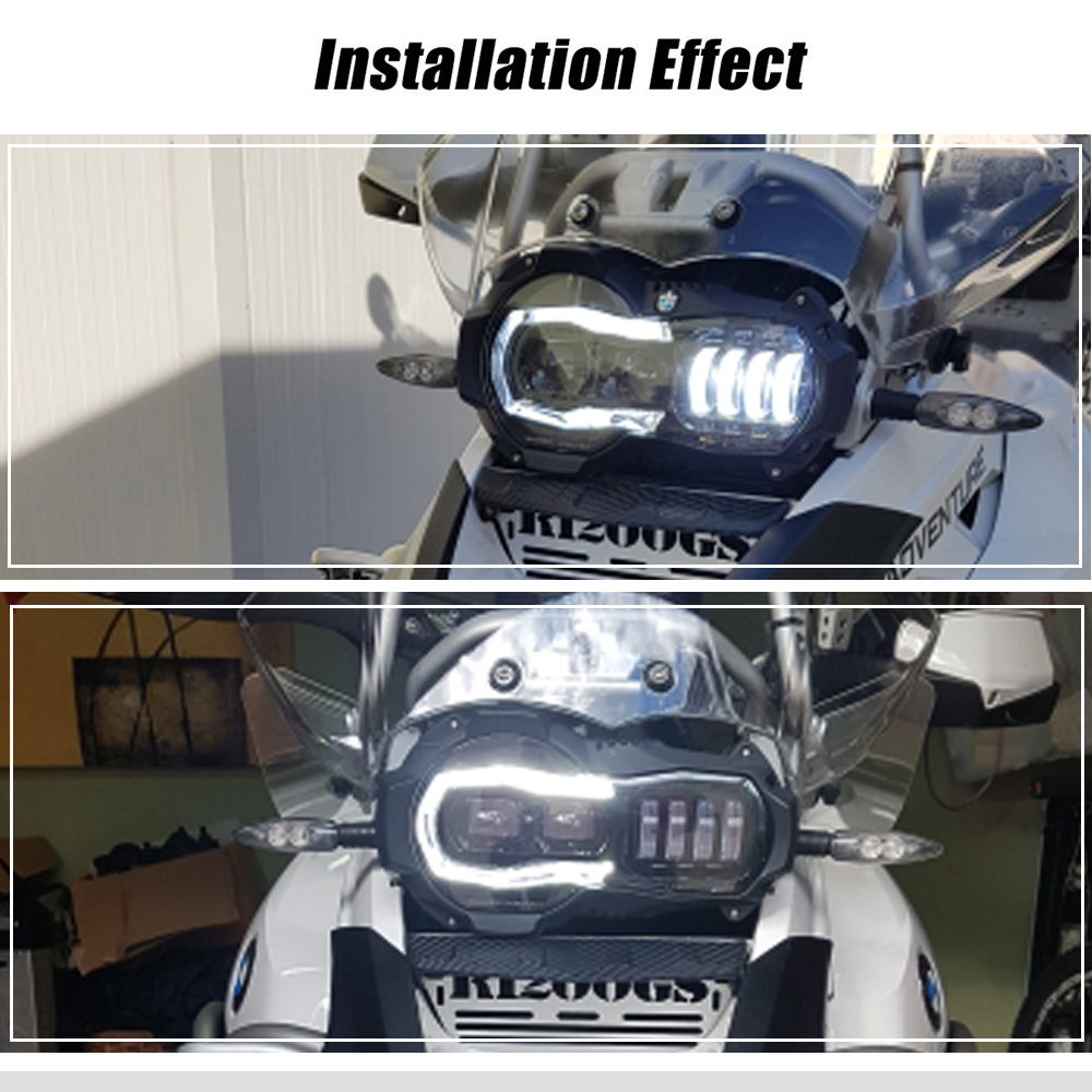Adv 2004-2012 LED Front Headlight Assembly For bmw R1200GS In USA
