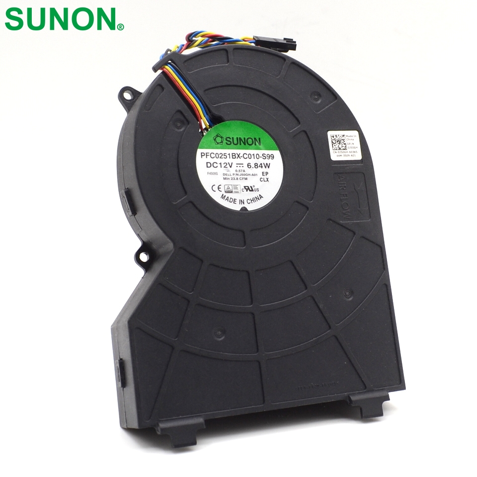 Free shipping 390 790 990 SFF small chassis fan PFC0251BX-C010-S99 0J50GH free shipping 97p3153 39j2473 fan pabst 3212 j 2n pseries 9111 520 7029 6c3 9131 52a