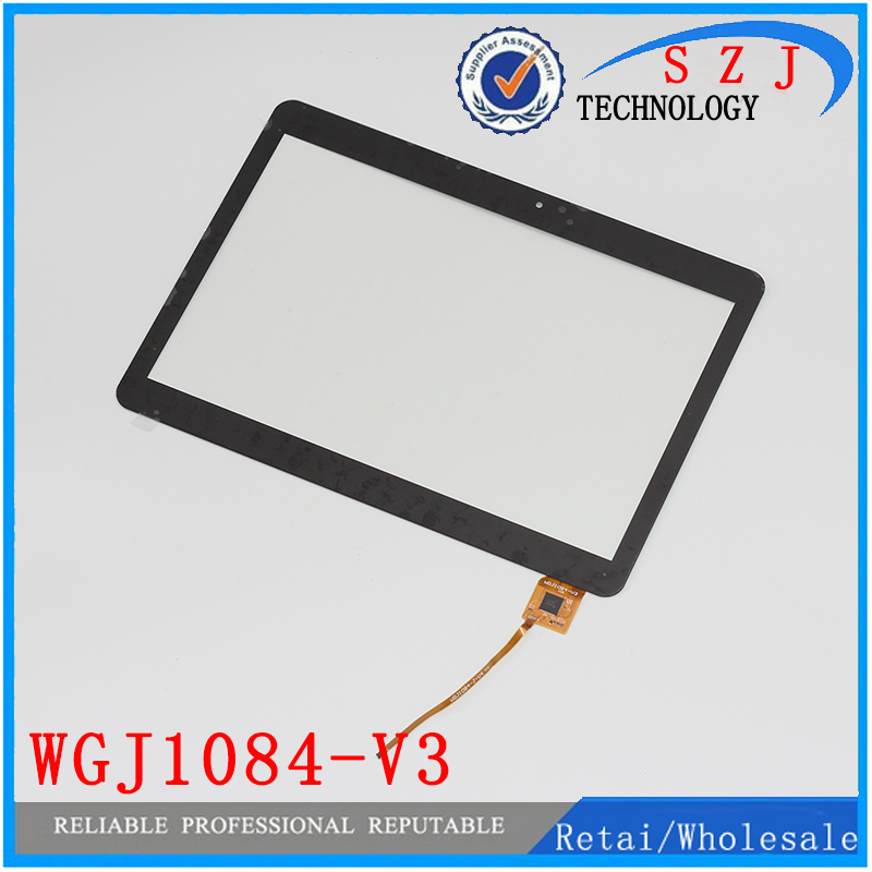 New 10.1'' inch Touch Screen Panel Digitizer Glass Replacement for Ritmix RMD-1028 Tablet WGJ1084-V3 WGJ1084-J-V4 Free Shipping wholesale new 4 3 inch touch screen panels for lms430hf18 lms430hf19 gps touch screen digitizer panel replacement free shipping