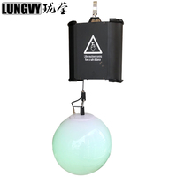 Free Shipping 120W 12x3W Up Down Hanging Led Light Colorful DMX Kinetic Lifting Ball For Stage Wedding Show Decoration