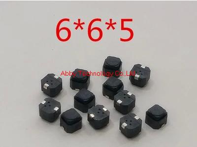 Switches Charitable 200pcs/lot 6*6*5mm Smd Silent Push Button Switch Microswitch Tact Switch 6x6x5h Skillful Manufacture Lights & Lighting