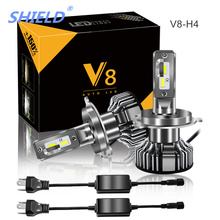 2 Pcs Car Headlight H7 LED H4 LED H1 H7 H3 H13 9006 9005 100W 8000LM 6500K 12V 24V Auto Headlamp CSP Chips Fog Light Bulb цена и фото