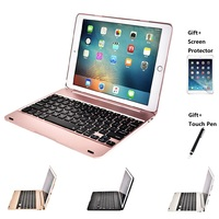 Slim Wireless Bluetooth Keyboard Foldable Stand Case Full Protective ABS Cover For iPad Mini 1234 Air 1 2 Pro 9.7 New 2017 2018