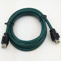 Customizable high soft towline cable, double head with screw male to male industrial camera towline cable f0