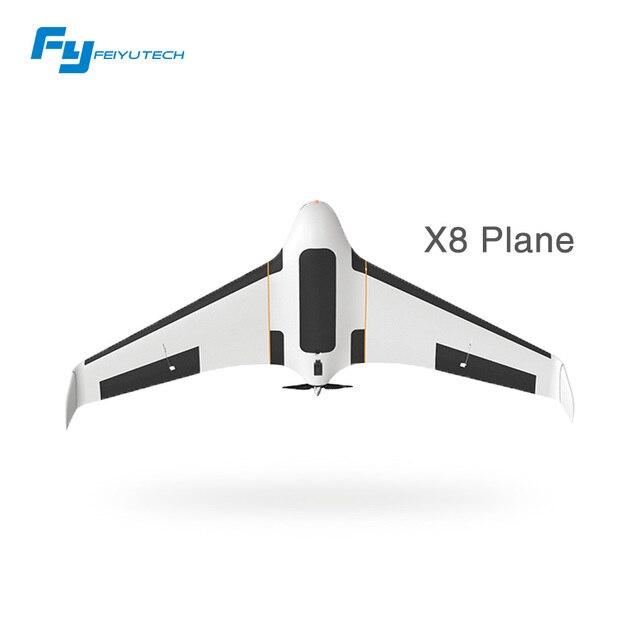 Feiyu Горячей Прямые Продажи X8 бпла Профессиональный Аэрофотосъемки mapping System Rc Батареи с Неподвижным Крылом Самолетов Гул С Камерой