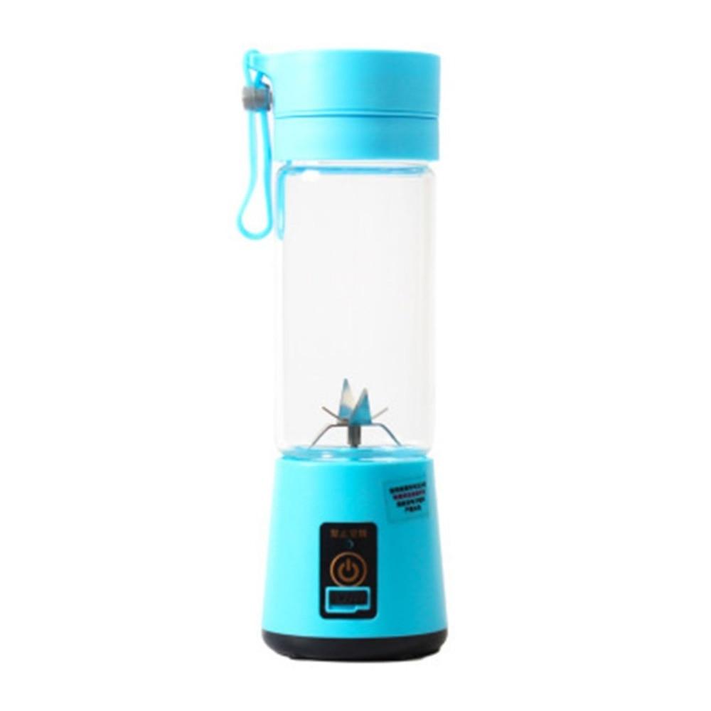 Portable Electric Fruit Juicer Handheld Smoothie Maker Blender Stirring USB Rechargeable Mini Portable Juice Cup Water