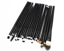 Professional 20 pcs Makeup Brush Set Foundation Eyeshadow Eyeliner Lip Cosmetic Brushes Toiletry Kit pincel maleta de maquiagem