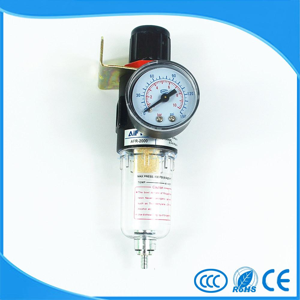 AFR-2000 Air Filter Regulator Compressor Pressure reducing valve Oil water separation source treatment unit