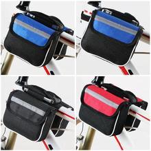 Прочный большая вместительность велосипед передняя корзина Водонепроницаемая труба руль сумка наружные аксессуары 19ing