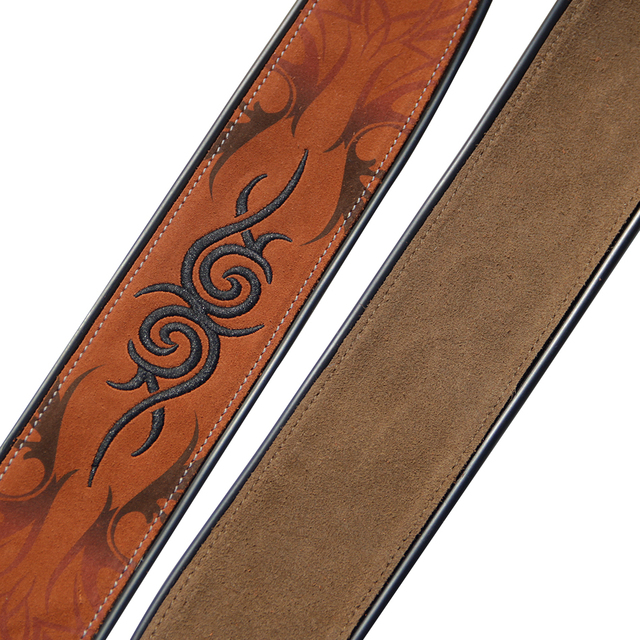 Soft Durable Leather Guitar Strap