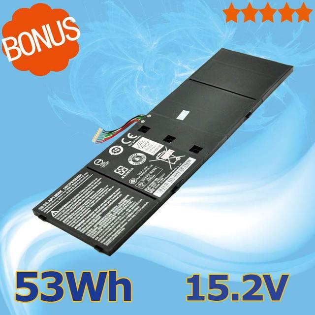 [Nuevos productos] ap13b3k ap13b8k 53wh 15.2 v batería del ordenador portátil para acer aspire v5-552 v5-572 r7 r7-572 v7-481 v5-473