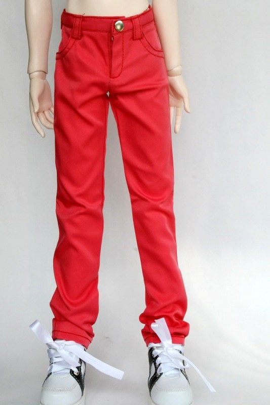 [wamami] 99# Red Jeans/Trousers/Outfit 1/3 SD DOD BJD Dollfie цена 2017