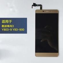 Высокое качество для CoolPad Y803 Y803-8 Y803-9 Y83-900 ЖК-дисплей Дисплей Сенсорный экран Датчик планшета смартфон сборки Замена