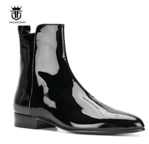 Low Heel Men Shoes Botas|Chelsea Boots