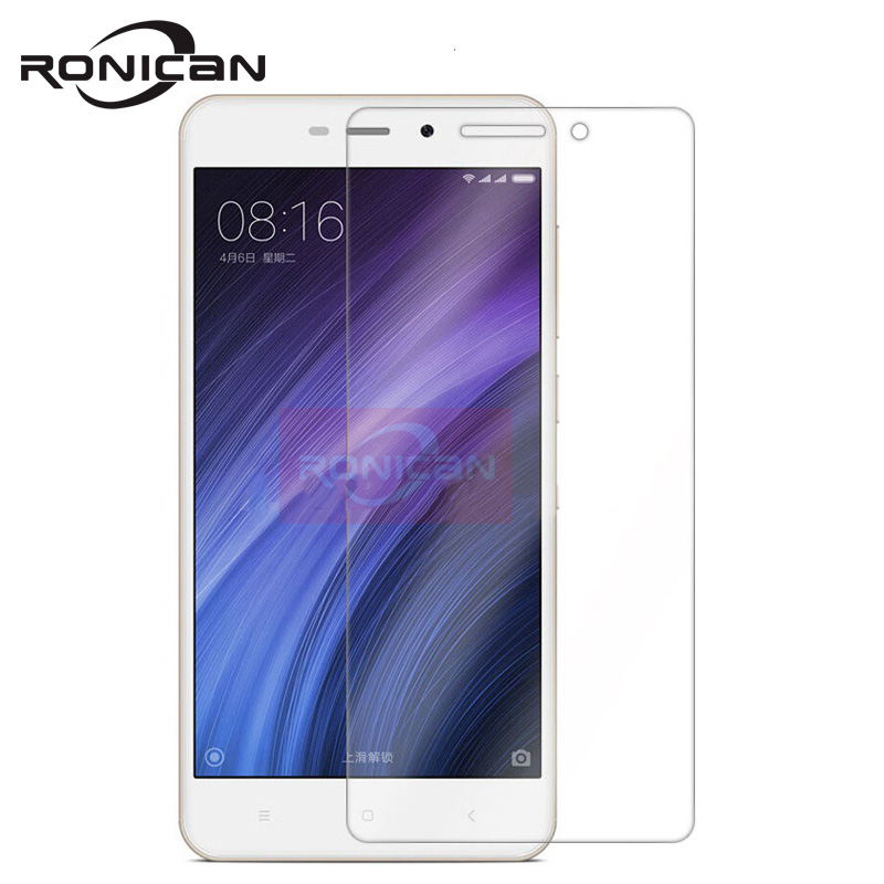 RONICAN Tempered Glass for Xiaomi Redmi 4A Screen Protector 9H 2.5D Protection Film for Xiaomi Redmi 4A 3 3S Tempered Glass film-in Phone Screen Protectors from Cellphones & Telecommunications