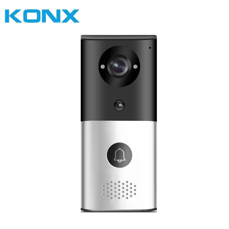 Купить с кэшбэком KONX KW03 1080P H.264 Smart WiFi Video Door Phone intercom Doorbell Wireless Unlock IR CUT Night Vision Motion Decetion Alarm