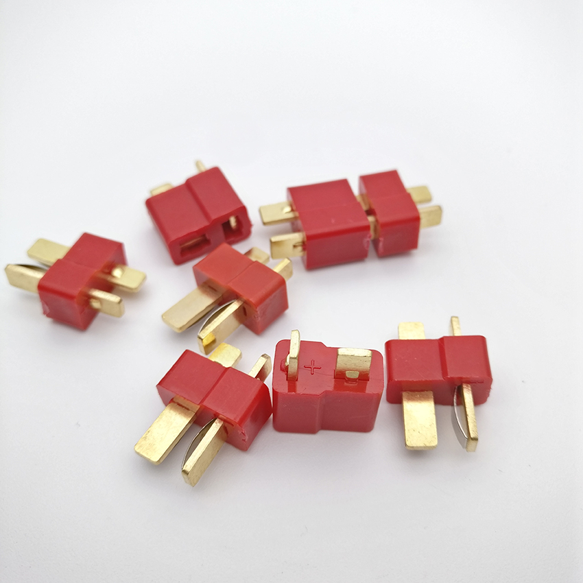 20pcs/set RC Lipo Battery Helicopter 10 Pair T Plug Connectors Male Female For Deans 20pcs t plug male