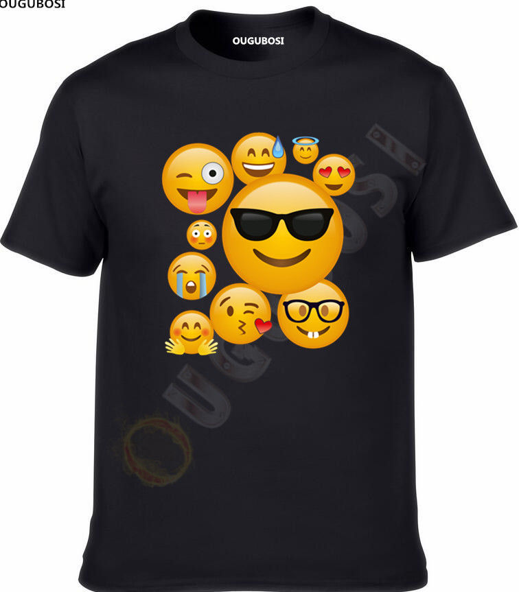 Details about Girls Boys Kids Children Emoji Ideograms Smileys Emotions Smartphone   T     Shirt   Top