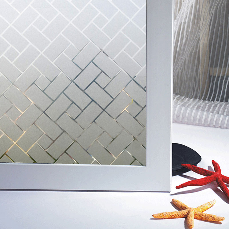 Электростатическая наклейка кабинет Бизнес Офис прямоугольник стекло наклейки двери анти-столкновения балкон окно пленка 30-90 см
