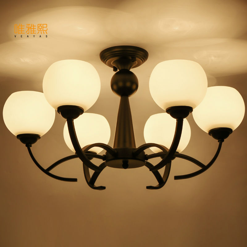 Home Lighting Vintage Style Glass Light Lamp Chandelier Light Best For  Living Dining Room In Chandeliers From Lights U0026 Lighting On Aliexpress.com  | Alibaba ...