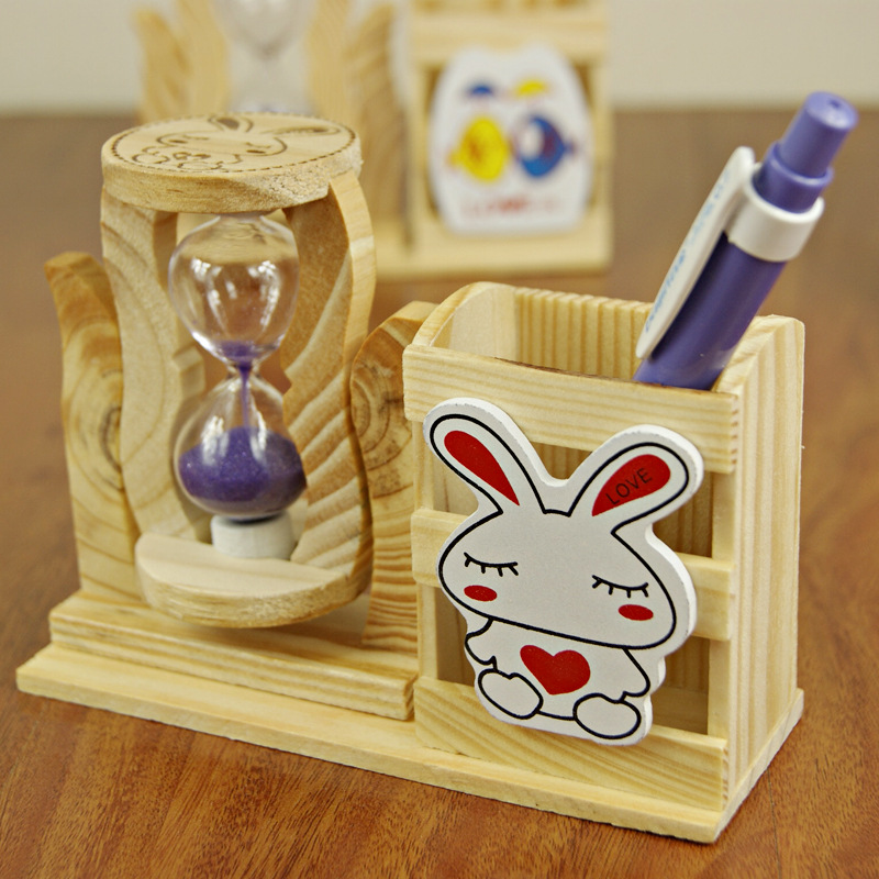 School Students In 150 Single Sand Gift Pen Wooden Crafts Gifts Birthday Small Christmas Figurines Miniatures From Home Garden
