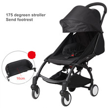 In Stock! 10 gifts 30 colors Fast delivery Light portable baby  stroller  newborn sleeping bag footrest etc