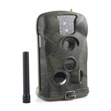 New MMS GPRS Trail Camera Game Scouting HD Video Ltl-6210MG Hunting Camera GSM 850nm glow with antenna+Free 8GB SD Card