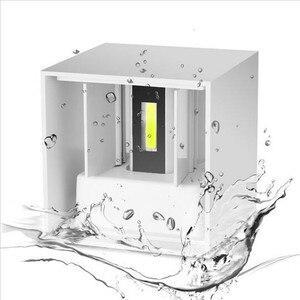 Image 2 - Luminária led de 6w 9w 12w, para áreas internas e externas, à prova d água, ip65, para parede, sensor de movimento radar, varanda arandela de decoração de casa iluminação