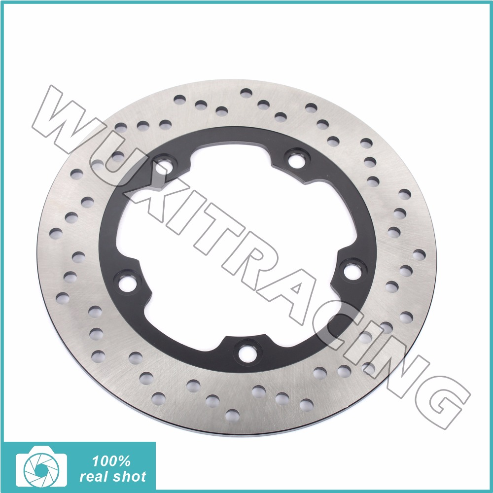 Rear Brake Disc Rotor for SUZUKI GSR 400 600 ABS 06-10 GSF 650 1200 Bandit S N ABS 06-14 GSX 650 F FA ABS 08-13 SV 650 S ABS 07 rear brake disc rotor for yamaha fz1 non abs 06 09 fz6 naked non abs 04 07 fz6 ns naked 05 06 motorcycle