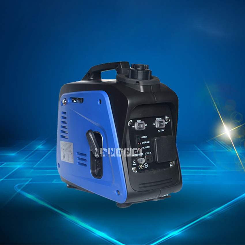 XYG950I Digital Inverter Gasoline Generator Small Portable Home Outdoor Camping Emergency Gasoline Generator 800W 220V 4500r/min kalibr beg 1200i generator gasoline powered camping inverter