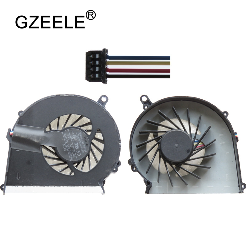 GZEELE new Laptop cpu cooling fan for HP Compaq CQ58 CQ57 G58 G57 650 655 Laptops Component Cpu Cooler Fans Notebook Computer personal computer graphics cards fan cooler replacements fit for pc graphics cards cooling fan 12v 0 1a graphic fan