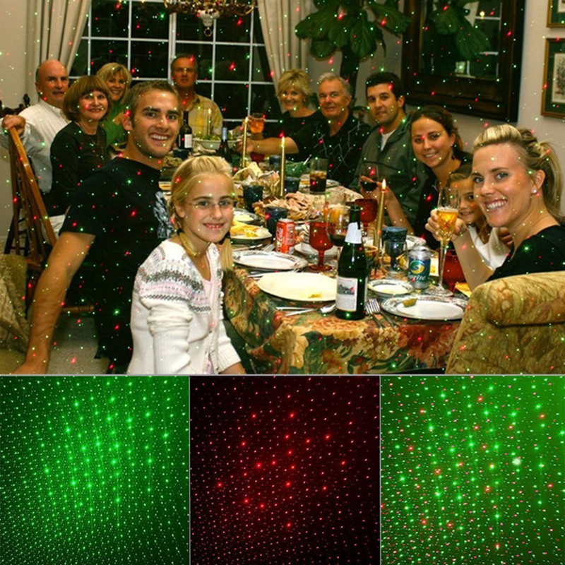 ФОТО Classic Outdoor Laser Stage Landcape Lights Red Green Light Projector Garden Xmas Party Lamp IP65 Waterproof
