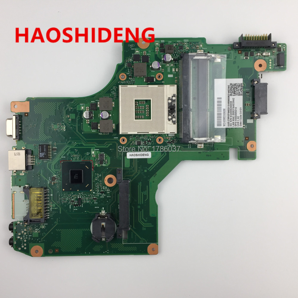 V00034501 6050A2578201-MB-A02 For Toshiba Satellite B40 series Laptop Motherboard,All functions fully Tested! dk10f 6050a2541801 mb a02