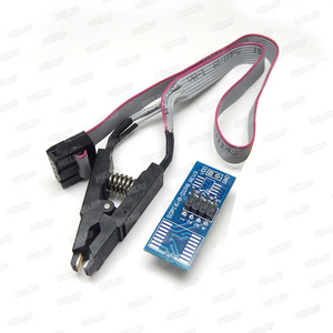 Image 4 - RT809H EMMC Nand Programmierer + 9 Adapter + TSOP56 Adapter + TSOP48 Adapter + SOP8 Test Clip MIT KABELN EMMC Nand Gute Qualität