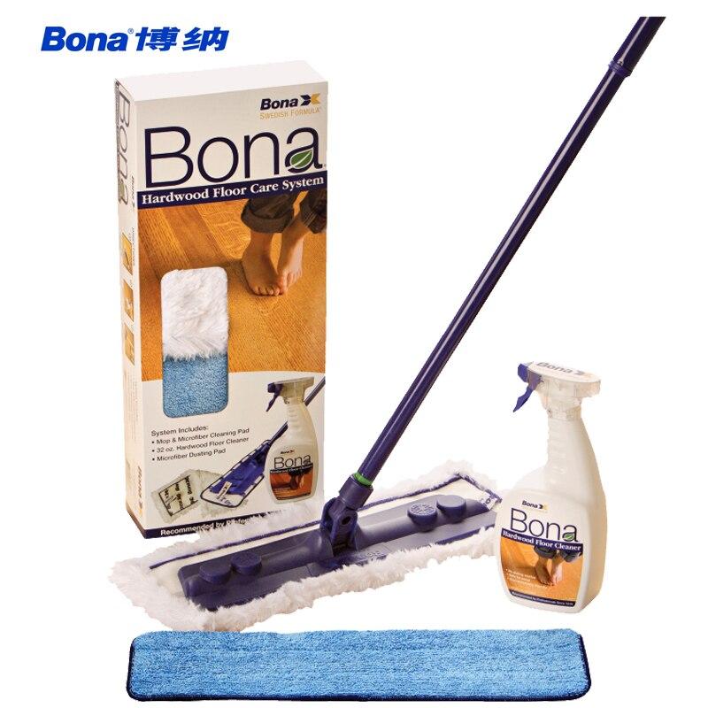 Bona Solid Wood Flooring Cleaning Set Floor Cleanser Flat