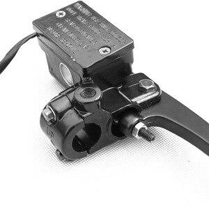 """Image 2 - 1 Pcs 유니버설 10mm 블랙 7/8 """"22mm 오토바이 프론트 브레이크 클러치 마스터 실린더 야마하 XT600 XT550 XT350 TT250 XT225"""