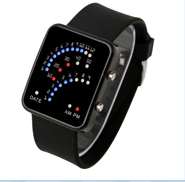 1d90b5bf9e5 2017 Marca de Moda Digital LED Relógio Para Homens Mulheres Relógios  Desportivos Relogio masculino Casual Vestido