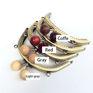 Image 5 - 10 adet/grup 12.5cm Metal çanta çerçeve toka kolları sikke çantalar debriyaj çanta aksesuarları çanta yapma öpücük toka kilit bronz