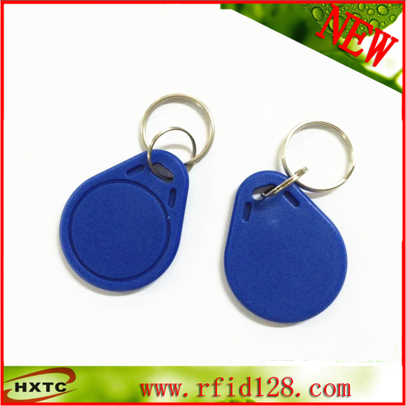 100PCS/Lot  Contactless 13.56MHz RIFD NFC Smart IC Key Fobs /Tags/Cards For  Access Control & Attendance System Free Shipping free shipping 13 56mhz contactless m1 s50 chip rfid 1k smart cards for bus 100pcs