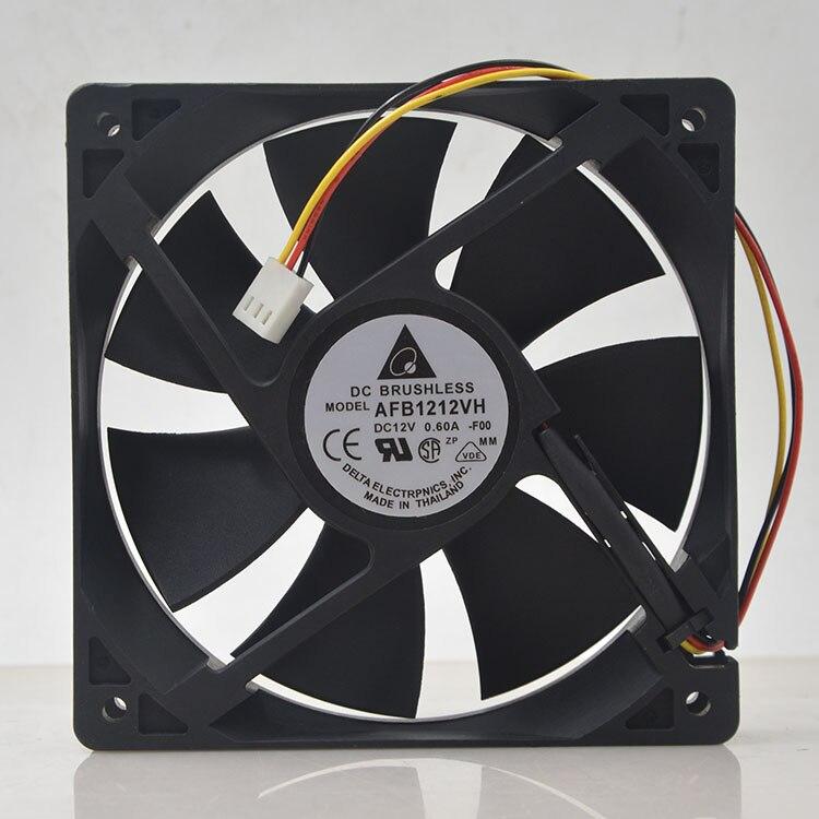 Для delta AFB1212VH BL3V AFB1212VH F00 AFB1212VH 12025 12V 0.60A 3 линии специальный вентилятор для 120*120*25 мм|Кулеры/вентиляторы/системы охлаждения|   | АлиЭкспресс