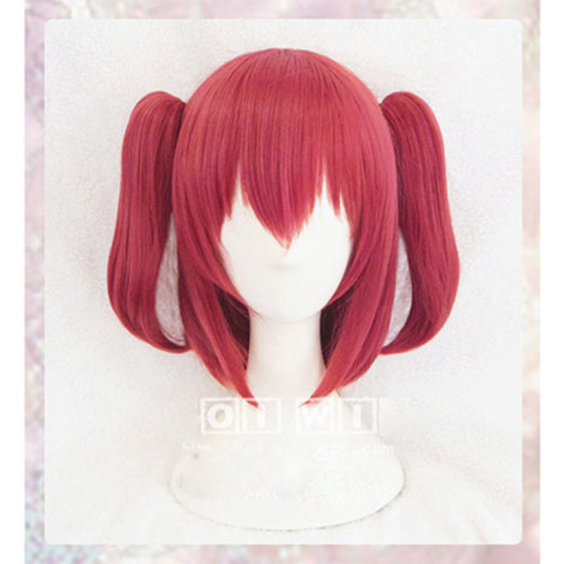 Kurosawa Ruby Cosplay Wig Love Live! Sunshine!! Costume Play Wigs Halloween Costumes Hair+ hairnet